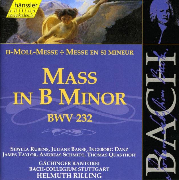 JOHANN SEBASTIAN BACH  Messe h-moll BWV 232