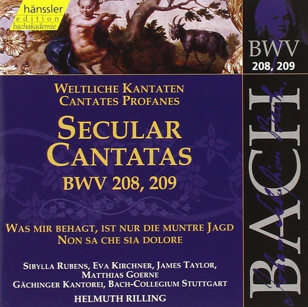 JOHANN SEBASTIAN BACH, Weltliche Kantaten BWV 208 und 209