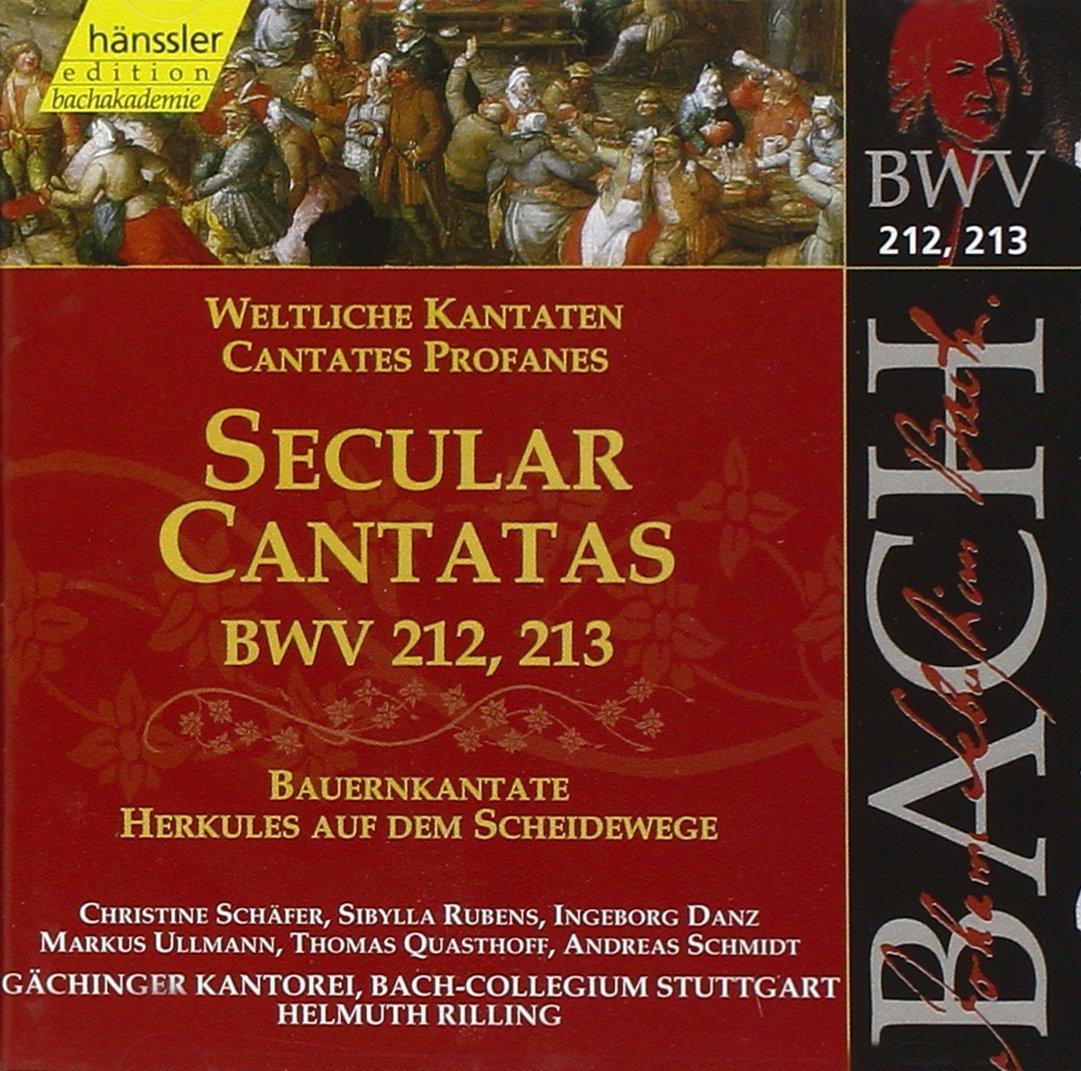JOHANN SEBASTIAN BACH: Weltliche Kantate BWV 213