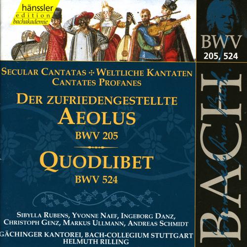 JOHANN SEBASTIAN BACH, Weltliche Kantaten BWV 205, 524