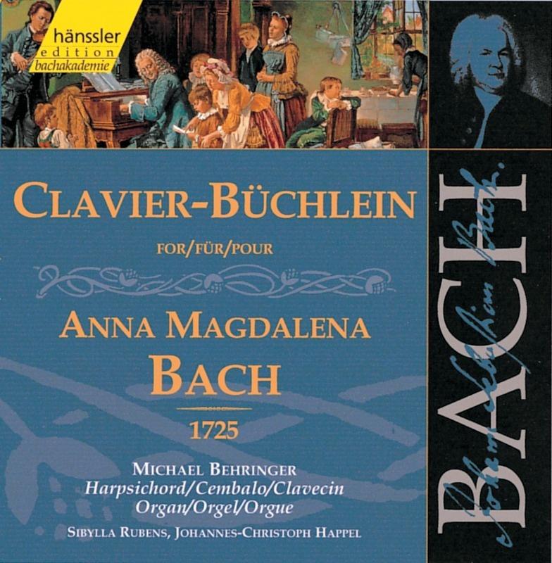 JOHANN SEBASTIAN BACH, Clavier-Büchlein