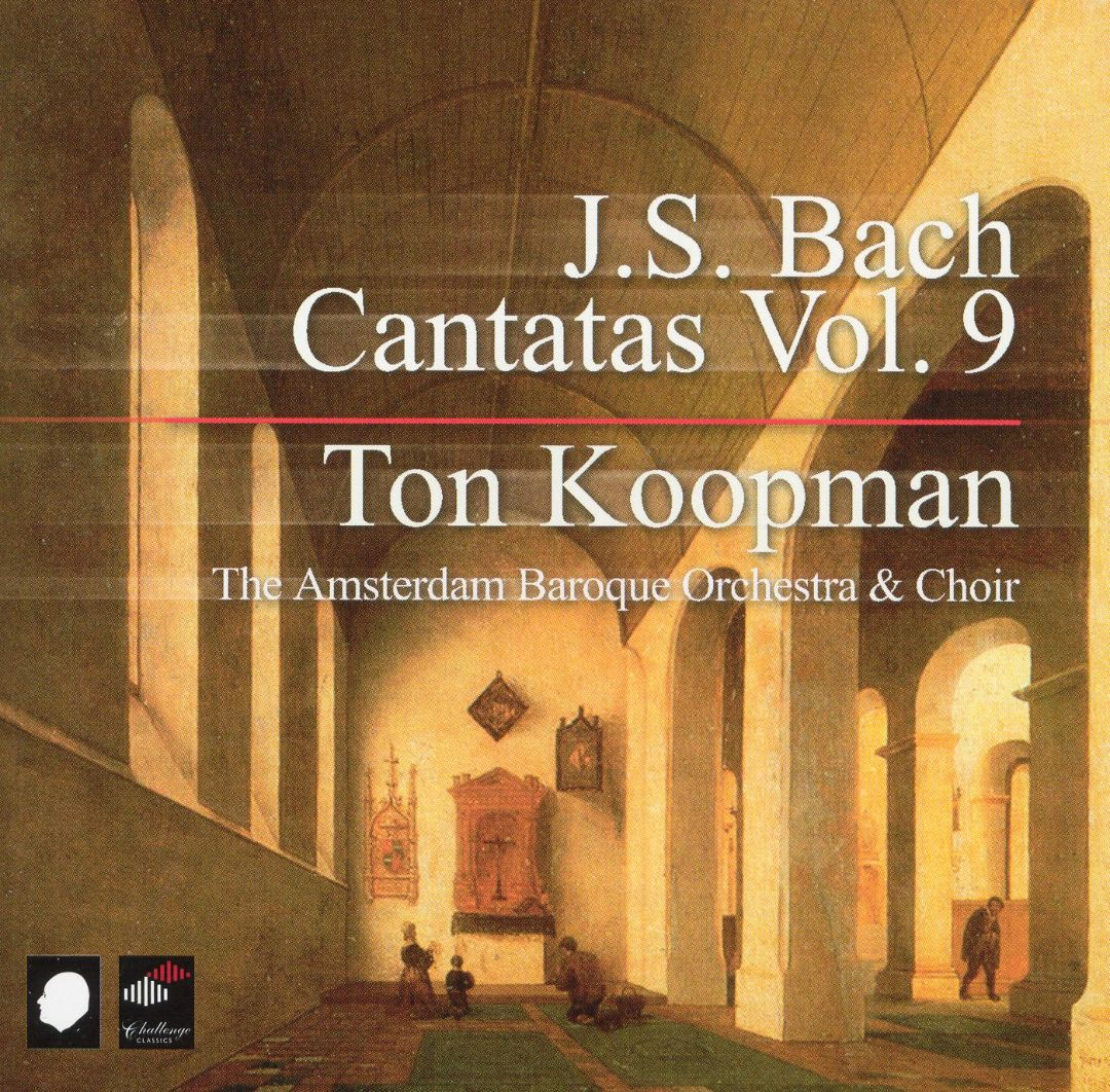JOHANN SEBASTIAN BACH, Kantaten Vol.  9