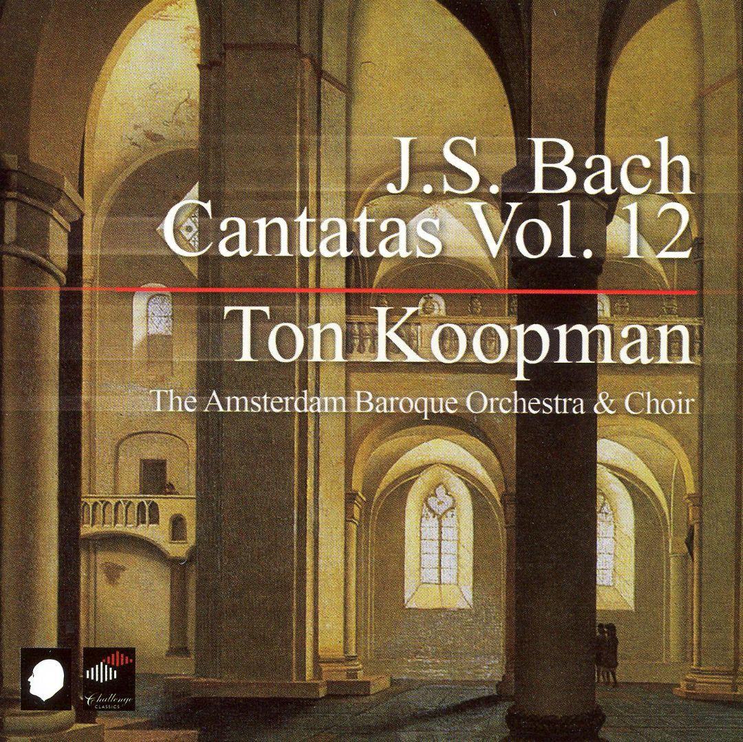 JOHANN SEBASTIAN BACH, Kantaten Vol. 12