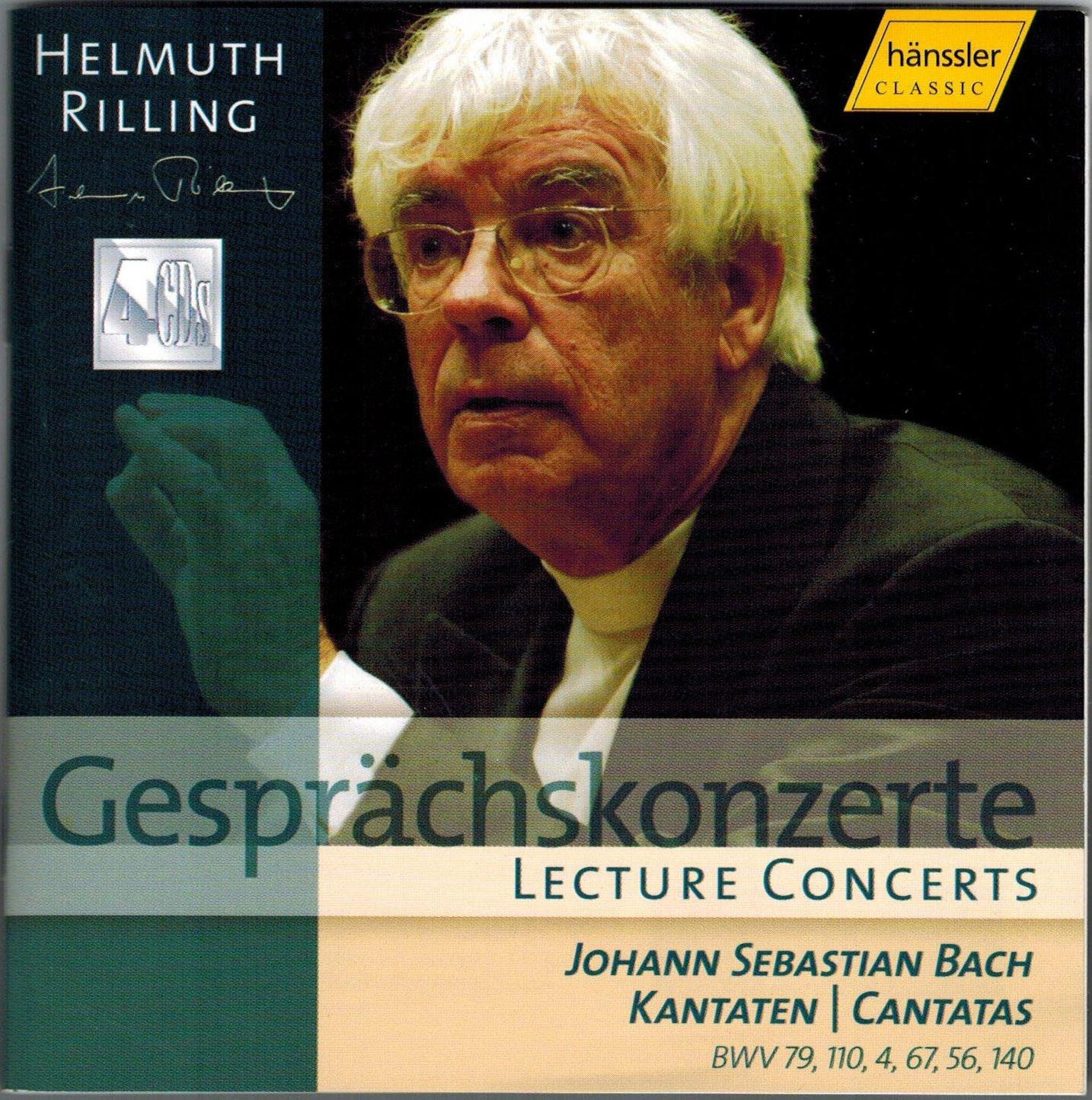 JOHANN SEBASTIAN BACH, Lecture Concerts