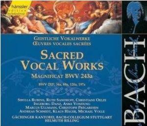 Joh. Seb. Bach: Magnificat Es-Dur  BWV 243a u.a.
