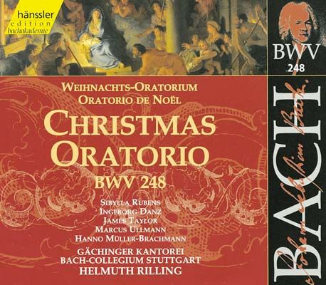 Joh. Seb. Bach: Weihnachtsoratorium BWV 248