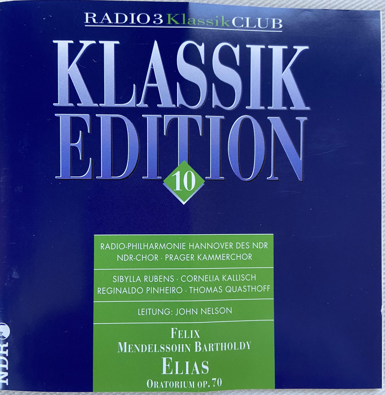 F. Mendelssohn Bartholdy: Elias