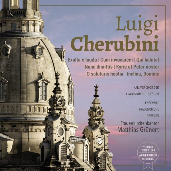 Luigi Cherubini: Exulta e lauda / Cum invocarem / Qui habitat / Nunc dimittis / Kyrie et Pater noster / o salutaris hostia / Inclina, Domine (Weltersteinspielung)