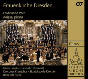 Ferdinando Paer (1771-1839): Missa piena (Weltersteinspielung)
