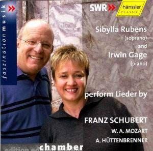 Lieder von Franz Schubert, W.A. Mozart und Anselm Hüttenbrenner