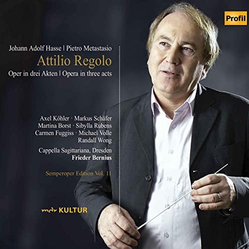 Johann Adolf Hasse: Attilio Regolo (Oper in drei Akten) Livemitschnitt aus der Semperoper Dresden 1997
