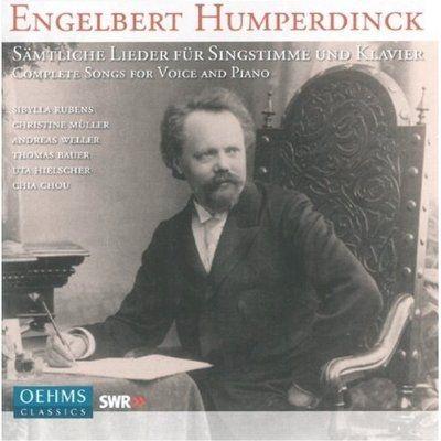 Engelbert Humperdinck: Sämtliche Lieder für Singstimme und Klavier