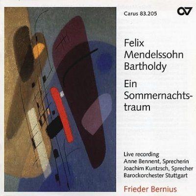 F. Mendelssohn Bartholdy: Ein Sommernachtstraum