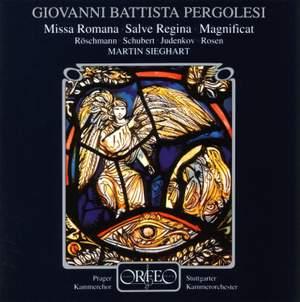 G.B. Pergolesi (1710-1736): Missa Romana / Salve Regina / Magnificat